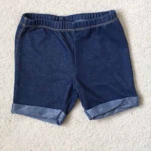 Girls Lucky Brand Cuffed Jeggings Shorts NWOT 4T